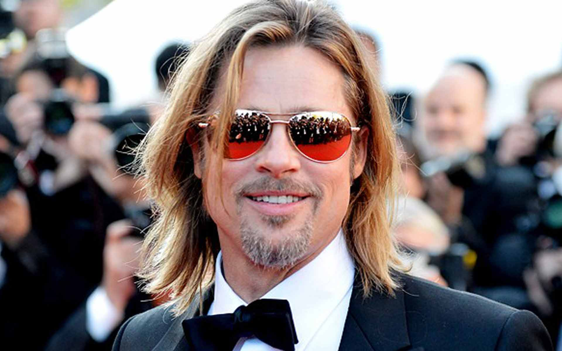 Brad Pitt Wears $1,250 Sunglasses to Cannes Film Festival!