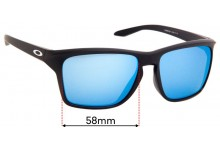 Sunglass Fix Sunglass Replacement Lenses for Oakley Sylas OO9448F - 58mm Wide