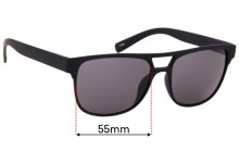 Sunglass Fix Sunglass Replacement Lenses for Alfred Sung - 55mm Wide