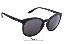 Sunglass Fix Sunglass Replacement Lenses for Arnette Chenga R AN4241 - 55mm Wide