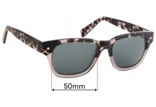 Sunglass Fix Sunglass Replacement Lenses for Eco By Modo Vail - 50mm Wide