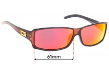 Sunglass Fix Sunglass Replacement Lenses for Gucci GG2515/S - 61mm Wide