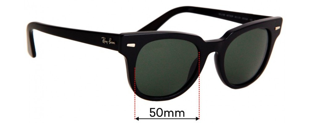 Sunglass Fix Sunglass Replacement Lenses for Ray Ban RB2168 Meteor - 50mm Wide