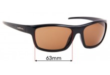 Sunglass Fix Sunglass Replacement Lenses for Spotters Bolt - 63mm Wide