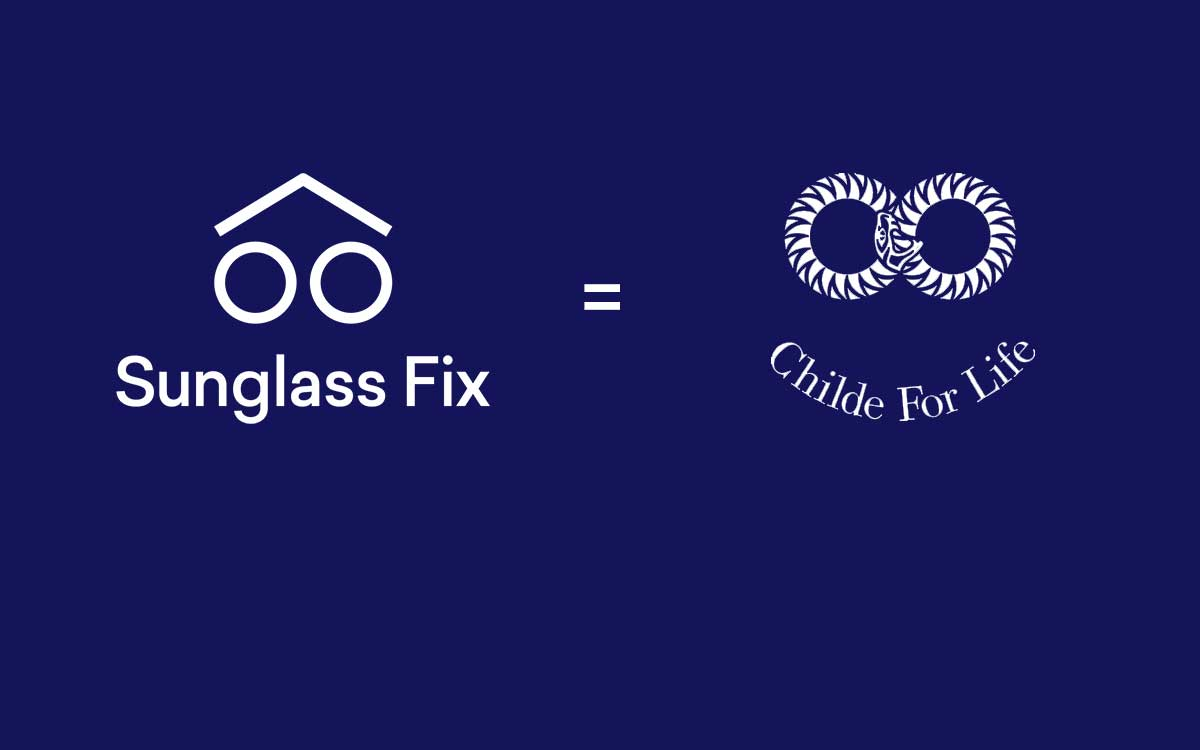 Childe Sunglasses Teams Up with Sunglass Fix. Sunglasses to Last a Lifetime