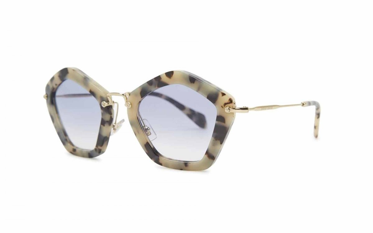 Wild New Sunglasses for 2013 - Mui Mui Prada Pentagon Sunglasses!