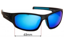 Sunglass Fix Sunglass Replacement Lenses for Cancer Council Australia Hogan - 63mm Wide