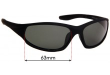 Sunglass Fix Sunglass Replacement Lenses for Cancer Council Australia Taree - 63mm Wide