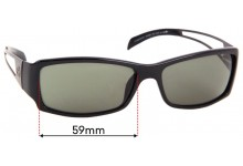 Sunglass Fix Sunglass Replacement Lenses for Gucci GG 1486/S - 59mm Wide