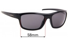 Sunglass Fix Sunglass Replacement Lenses for Spotters Bolt - 58mm Wide