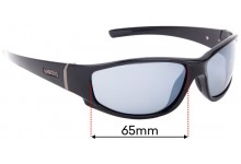 Sunglass Fix Sunglass Replacement Lenses for Spotters Cristo - 65mm Wide