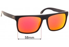 Sunglass Fix Sunglass Replacement Lenses for William Painter The Level - 58mm Wide