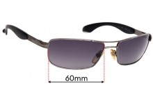 Sunglass Fix Sunglass Replacement Lenses for Persol 2140-S - 60mm Wide