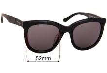 Sunglass Fix Sunglass Replacement Lenses for Sass & Bide Sukha Jam - 52mm Wide