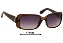 Sunglass Fix Sunglass Replacement Lenses for Vogue VO2663-S - 57mm Wide