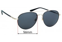Sunglass Fix Replacement Lenses for Gucci GG0388S  - 56mm Wide