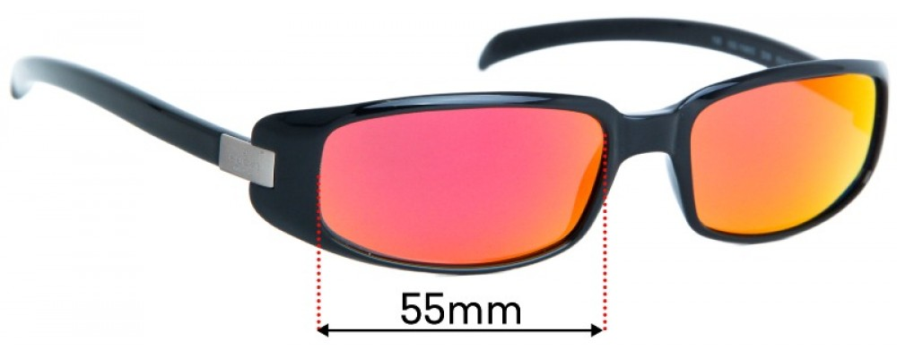 Sunglass Fix Replacement Lenses for Gucci  GG1188/S - 55mm Wide