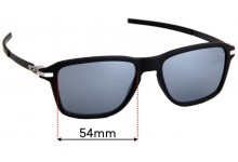 Sunglass Fix Sunglass Replacement Lenses for Oakley Wheel House OO9469 - 54mm Wide