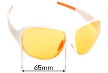 Sunglass Fix Sunglass Replacement Lenses for Poc Do High - 65mm Wide