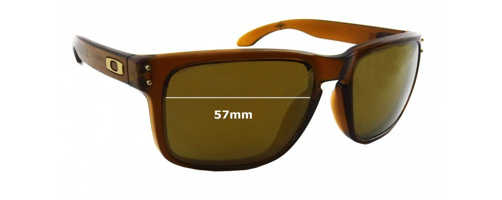 900d627019 Oakley Holbrook OO9102 Sunglass Replacement Lenses - 57mm Wide ...