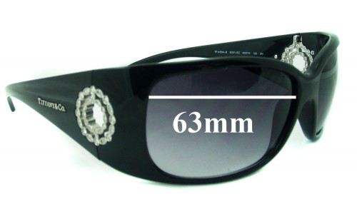 Sunglass Fix Sunglass Replacement Lenses for Tiffany & Co TF 4004-B - 63mm Wide