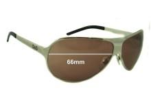 Sunglass Fix Sunglass Replacement Lenses for Dolce & Gabbana DG6025 - 66mm Wide