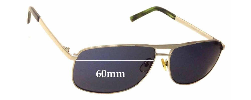 Sunglass Fix Sunglass Replacement Lenses for 5th Avenue 9004 - 60mm Wide