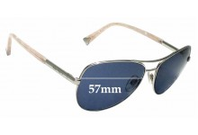 Sunglass Fix Sunglass Replacement Lenses for Alex Perry AP Sun Rx 25 - 57mm Wide