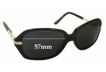 Sunglass Fix Sunglass Replacement Lenses for Alex Perry AP Sun Rx 08 - 57mm Wide