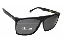 Sunglass Fix Sunglass Replacement Lenses for AM Eyewear Cobsey - 61mm Wide