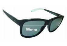 Sunglass Fix Sunglass Replacement Lenses for Armani Exchange AX 4054S - 55mm Wide