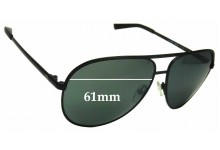 Sunglass Fix Sunglass Replacement Lenses for Armani Exchange AX 2002 - 61mm Wide