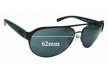 Sunglass Fix Sunglass Replacement Lenses for Armani Exchange AX 2015S - 62mm Wide