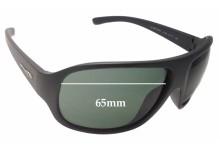 Sunglass Fix Sunglass Replacement Lenses for Arnette Alter Ego AN4125 - 65mm Wide