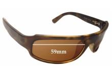 Sunglass Fix Sunglass Replacement Lenses for Arnette AN4042 - 59mm Wide