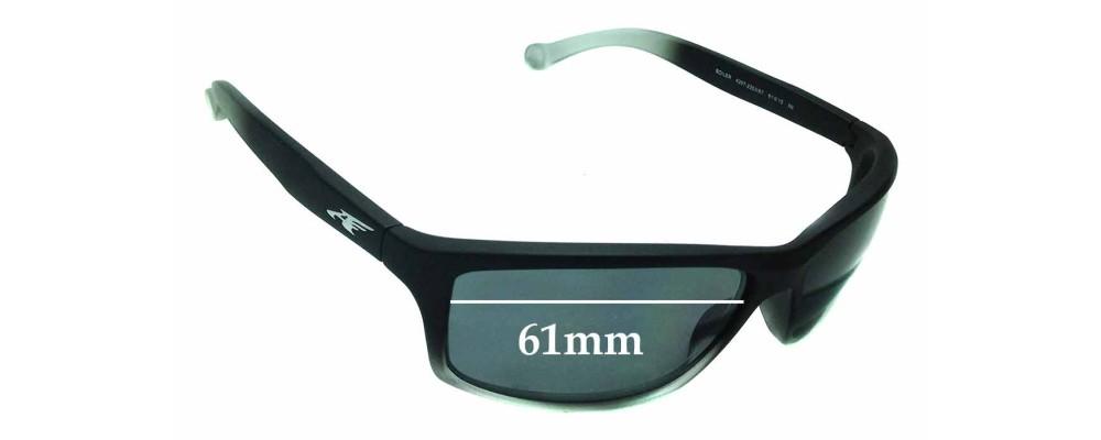 d455a36e7a Sunglass Fix Sunglass Replacement Lenses for Arnette Boiler AN4207 - 61mm  wide