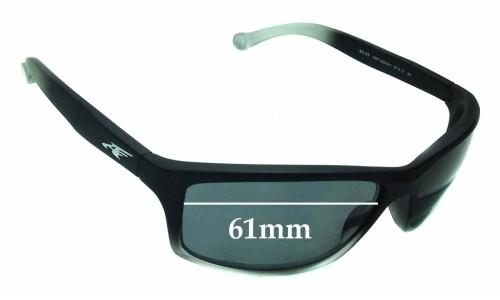 Sunglass Fix Sunglass Replacement Lenses for Arnette Boiler AN4207 - 61mm wide
