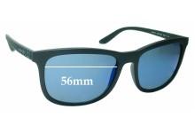 Sunglass Fix Sunglass Replacement Lenses for Arnette Chenga AN4240 - 56mm Wide