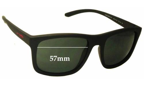 Sunglass Fix Sunglass Replacement Lenses for Arnette Complementary AN4233 - 57mm Wide