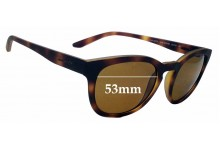Sunglass Fix Sunglass Replacement Lenses for Arnette Cut Back AN4230 - 53mm Wide