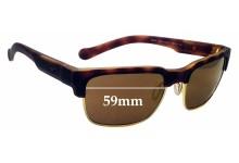 Sunglass Fix Sunglass Replacement Lenses for Arnette Dean AN4205 - 59mm Wide