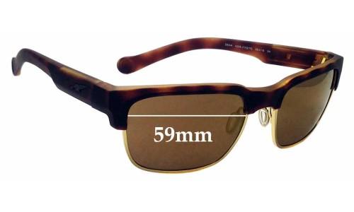 Sunglass Fix Sunglass Replacement Lenses for Arnette Dean 4205 - 59mm wide