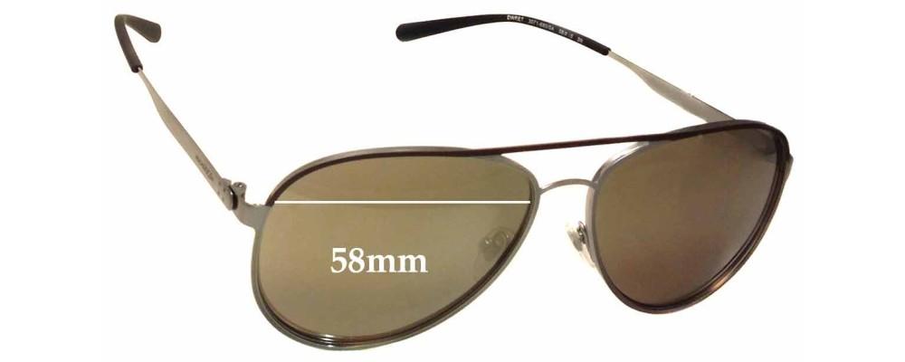 Sunglass Fix Sunglass Replacement Lenses for Arnette Dweet AN3071 - 58mm Wide