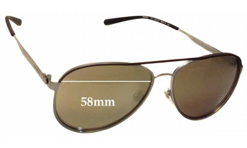 Sunglass Fix Sunglass Replacement Lenses for Arnette Dweet AN3071 - 58mm Wide