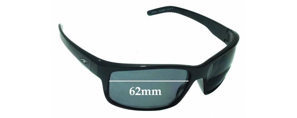 389ecfb677775 Arnette Fastball AN4202 Sunglass Replacement Lenses - 62mm wide ...