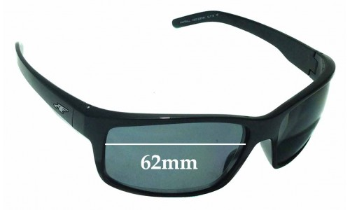 Sunglass Fix Sunglass Replacement Lenses for Arnette Fastball AN4202 - 62mm wide