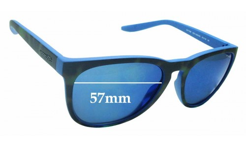 Sunglass Fix Sunglass Replacement Lenses for Arnette Go Time 4227 - 57mm Wide