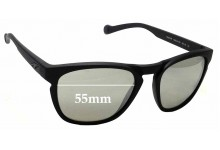 Sunglass Fix Sunglass Replacement Lenses for Arnette Groove AN4203 - 55mm Wide