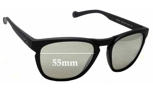Sunglass Fix Sunglass Replacement Lenses for Arnette Groove 4203 - 55mm wide