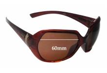 Sunglass Fix Sunglass Replacement Lenses for Arnette Heavenly AN4093 - 60mm Wide